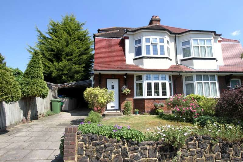 4 Bedrooms Semi Detached House for sale in Widmore Lodge Road, Bromley