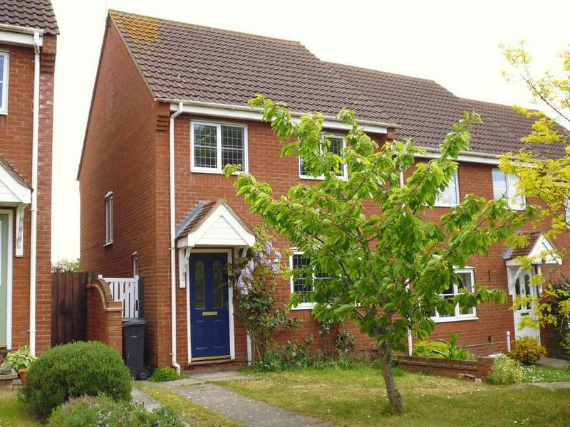 3 Bedrooms Semi Detached House for sale in Swan Close, Stowmarket