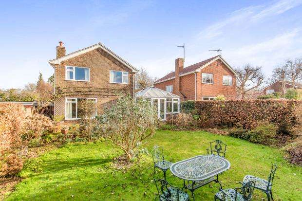 4 Bedrooms Detached House for sale in Busbridge, Godalming, Surrey