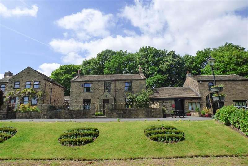 5 Bedrooms Link Detached House for sale in Jackroyd Lane, Upper Hopton, Mirfield, WF14 8HS