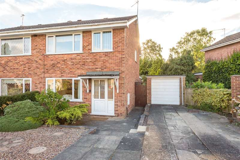3 Bedrooms Semi Detached House for sale in West Nooks, Haxby, York, YO32