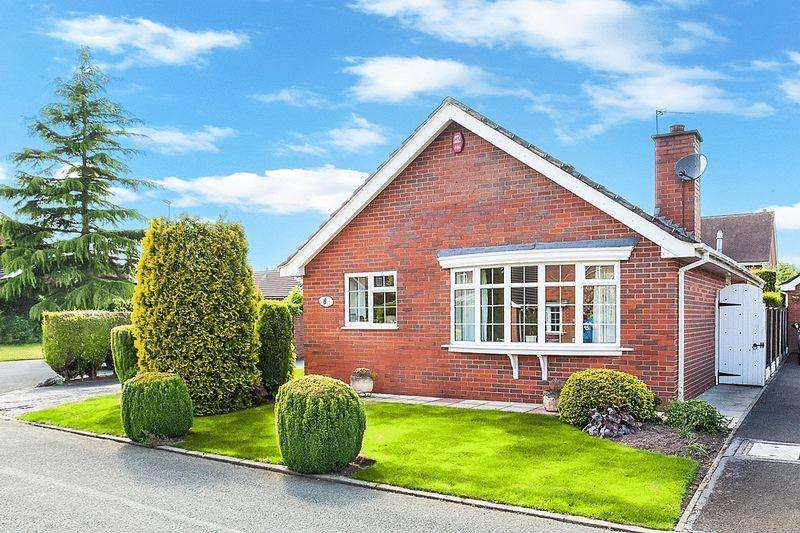 2 Bedrooms Detached Bungalow for sale in Meakin Close, Congleton