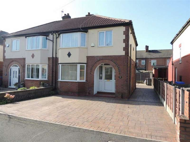 3 Bedrooms Semi Detached House for sale in Maple Avenue, Audenshaw, Manchester