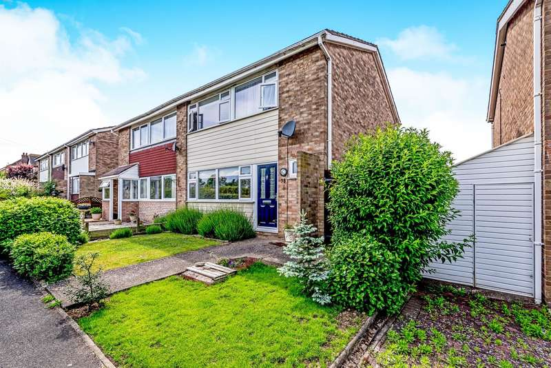 3 Bedrooms Semi Detached House for sale in Bedford Road, Great Barford, Bedford, MK44
