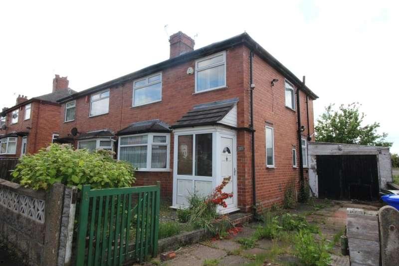 3 Bedrooms Semi Detached House for sale in Elmsmere Avenue, Blurton, Stoke-On-Trent, ST3
