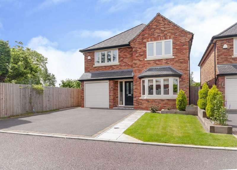 4 Bedrooms Detached House for sale in Amelia Close, Breaston
