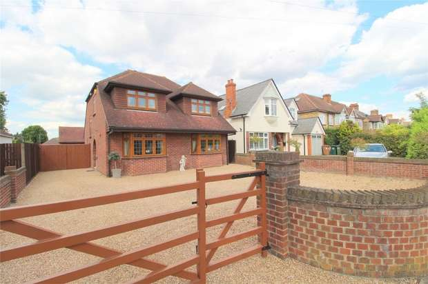 4 Bedrooms Detached House for sale in Feltham Hill Road, Ashford, Middlesex