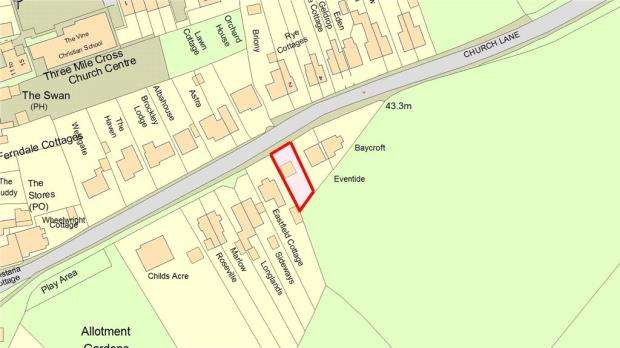Land Commercial for sale in Church Lane, Three Mile Cross, Reading