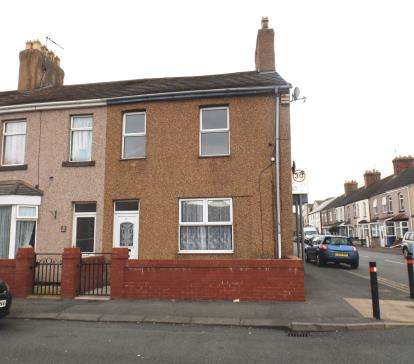 3 Bedrooms End Of Terrace House for sale in Ernest Street, Rhyl, Denbighshire, LL18