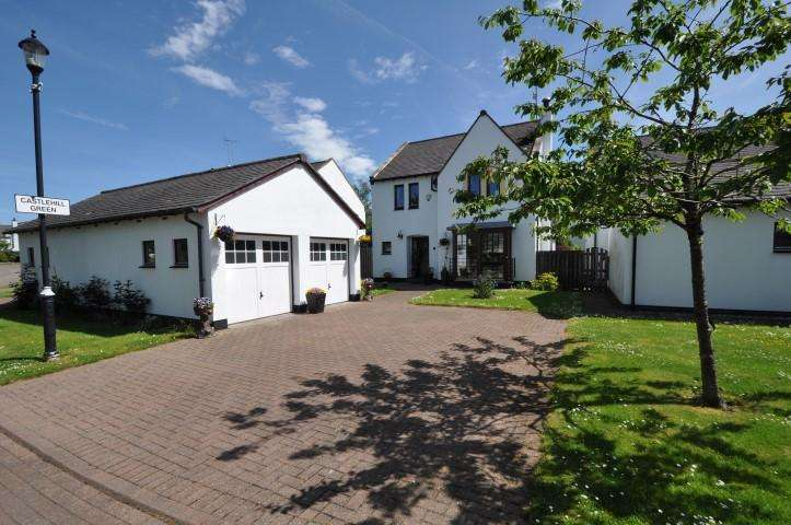 4 Bedrooms Detached Villa House for sale in 19 Castlehill Green, Kittochmuir, G74 5BY