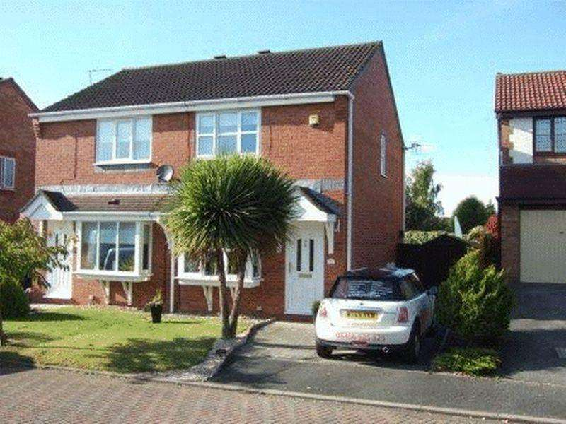 3 Bedrooms Semi Detached House for sale in Rowan Rise, Barnton, CW8 4NZ