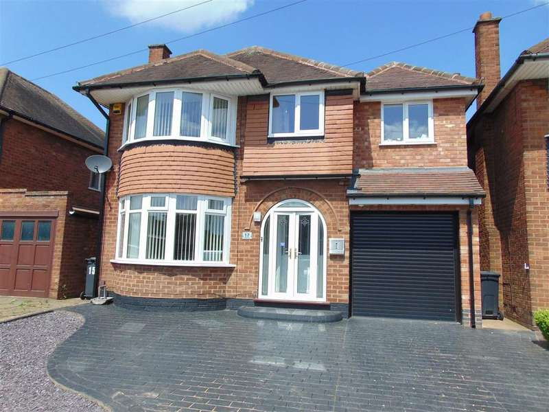 4 Bedrooms Detached House for sale in Lodge Road, Pelsall, Walsall
