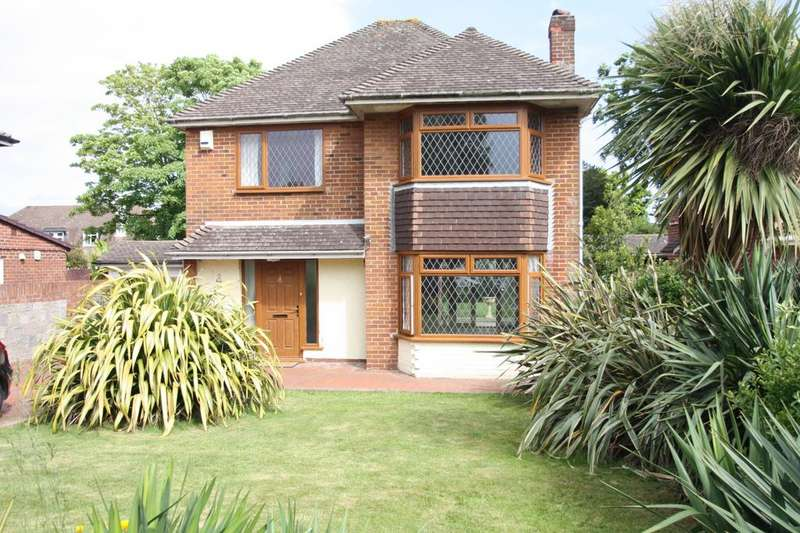 4 Bedrooms Detached House for sale in The Paddock, Alverstoke, Gosport PO12