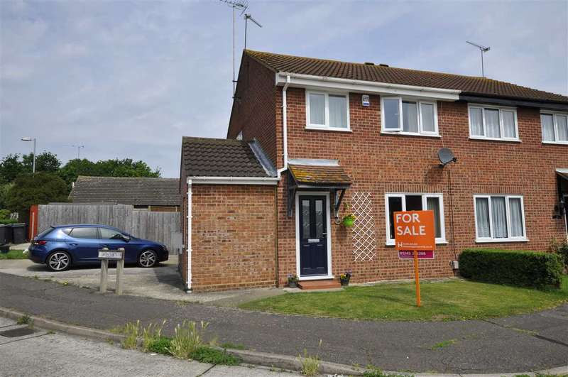 3 Bedrooms Semi Detached House for sale in Woodroffe Close, Chelmsford