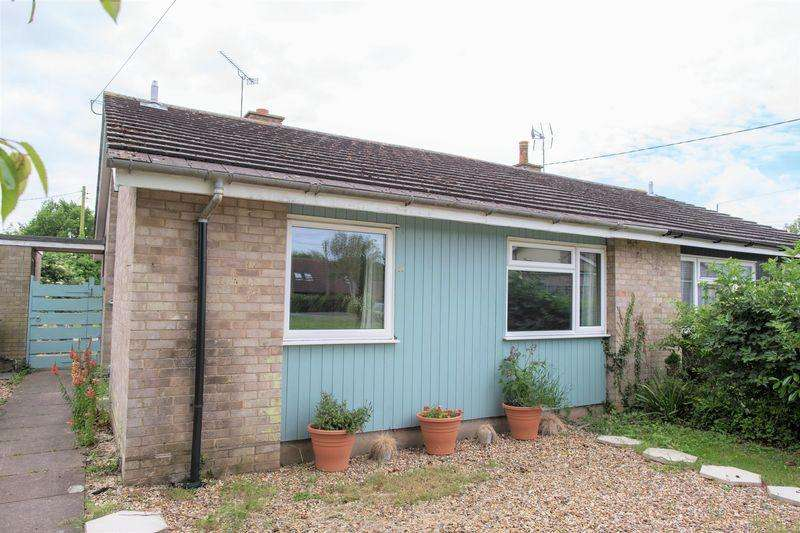 2 Bedrooms Semi Detached Bungalow for sale in Thetford Road, Bury St. Edmunds