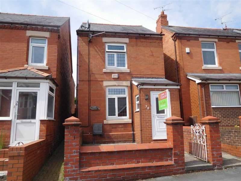 2 Bedrooms Detached House for sale in Stanley Road, Ponciau, Wrexham