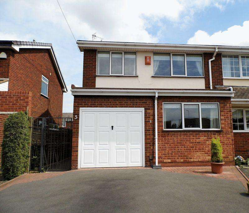 3 Bedrooms Semi Detached House for sale in Highfield Avenue, Shelfield, Walsall