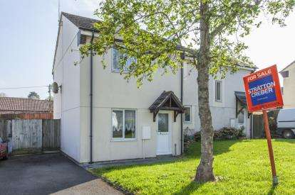 2 Bedrooms Semi Detached House for sale in Grampound Road, Truro, Cornwall