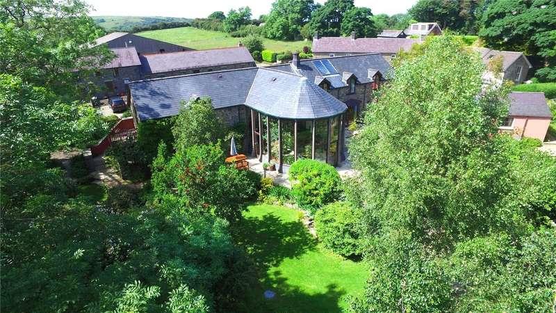 6 Bedrooms Detached House for sale in Heddfan and Garden Cottage, Llwyndafydd, Newquay, Ceredigion
