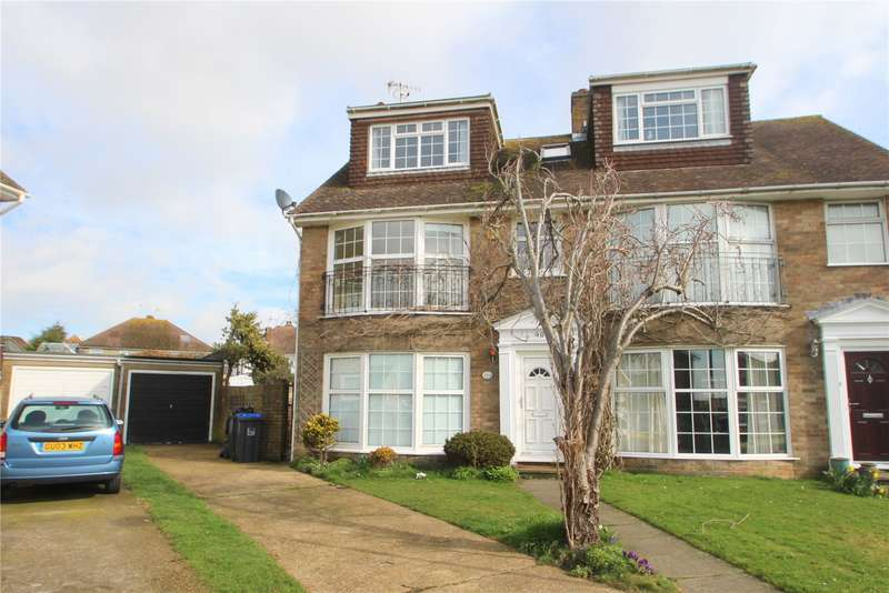 3 Bedrooms Semi Detached House for sale in Greenacres, Shoreham By Sea, West Sussex, BN43