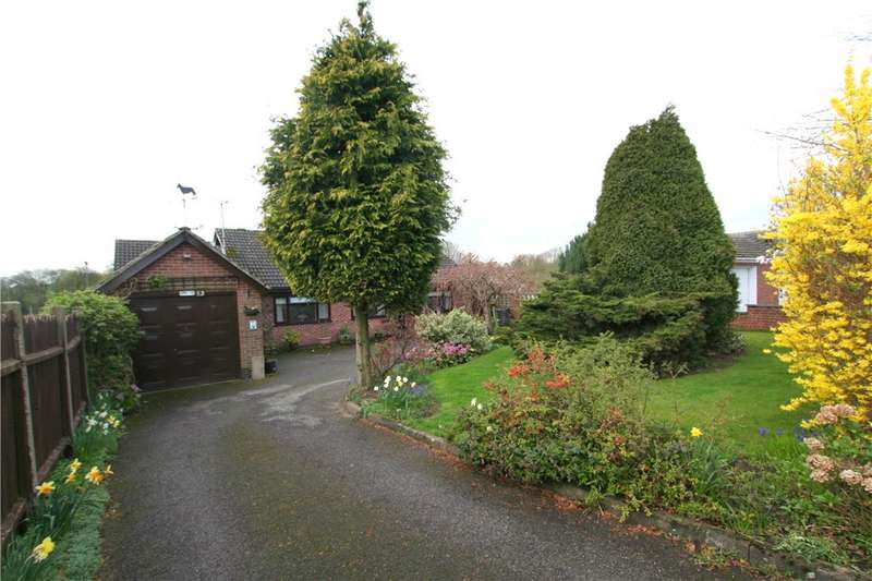 4 Bedrooms Detached Bungalow for sale in Old Coppice Side, Heanor, Derbyshire, DE75