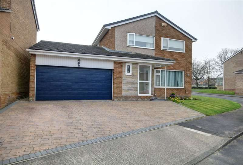 4 Bedrooms Detached House for sale in Bedale Close, Belmont, Durham, DH1
