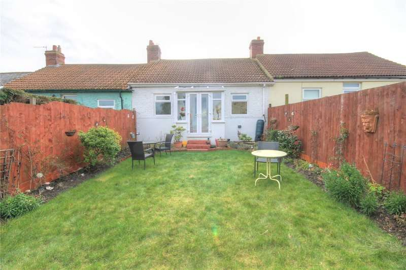 3 Bedrooms Terraced Bungalow for sale in First Street, Bradley Bungalows, Consett, DH8