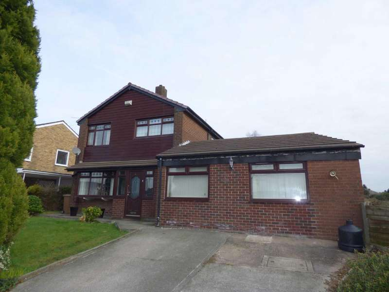 4 Bedrooms Detached House for sale in Newhouse Road, Hopwood, Heywood, Lancashire, OL10