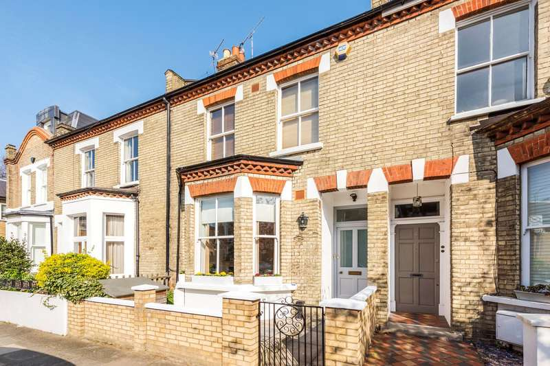 5 Bedrooms Terraced House for sale in Berestede Road, Stamford Brook, London, W6