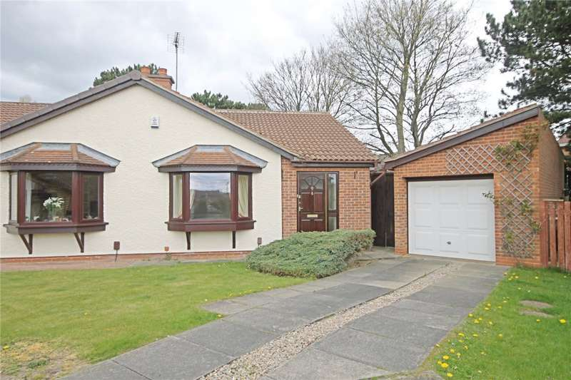 2 Bedrooms Semi Detached Bungalow for sale in Westkirk Close, Darlington, County Durham, DL3