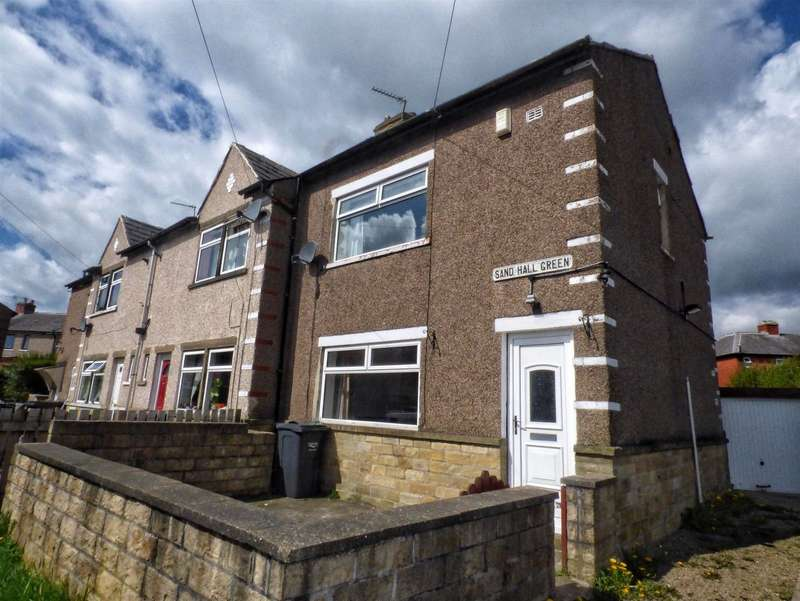 2 Bedrooms End Of Terrace House for sale in Sand Hall Green, Highroad Well, HALIFAX, West Yorkshire, HX2