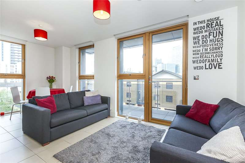 1 Bedroom Flat for sale in Streamlight Tower, 9 Province Square, E14
