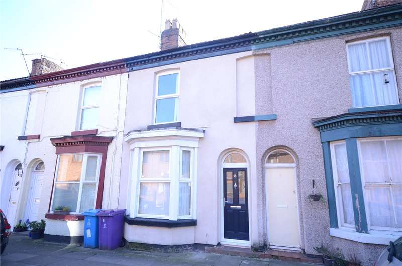 2 Bedrooms Terraced House for sale in Bickerton Street, Aigburth, Liverpool, L17