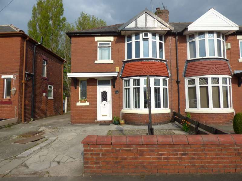 3 Bedrooms Semi Detached House for sale in Northerly Crescent, New Moston, Greater Manchester, M40