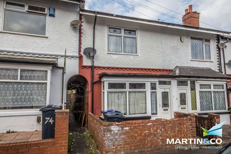 3 Bedrooms Terraced House for sale in Bowden Road, Smethwick, B67