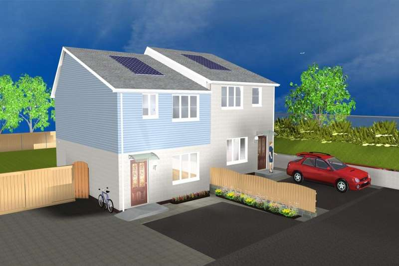 2 Bedrooms Semi Detached House for sale in Tamar Way, Plymouth, PL5