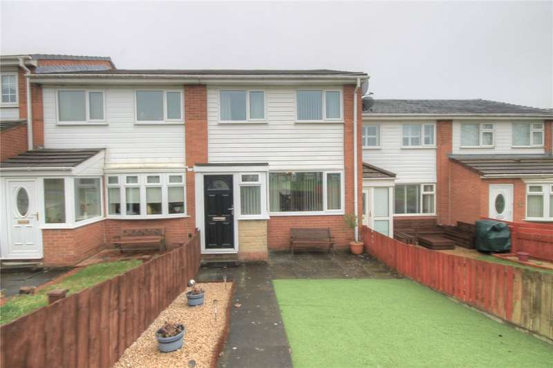 3 Bedrooms Terraced House for sale in Aberfoyle Court, East Stanley, Stanley, DH9