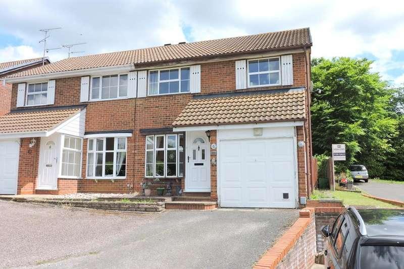 3 Bedrooms Semi Detached House for sale in Corinium Gardens, Luton, Bedfordshire, LU3 4DB