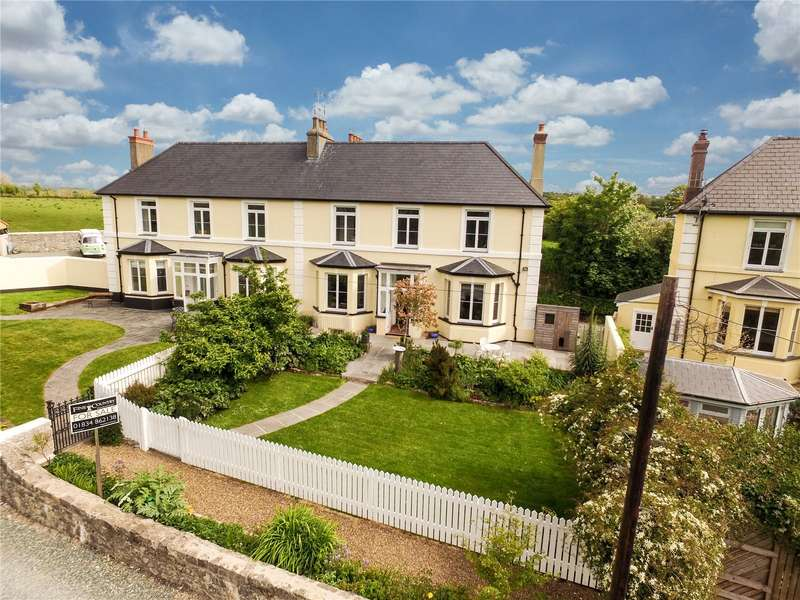 7 Bedrooms Semi Detached House for sale in Morfa Terrace, Manorbier, Tenby
