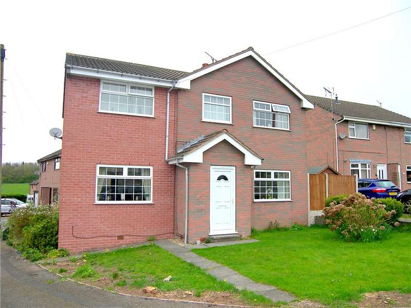 5 Bedrooms Detached House for sale in Acer Close, Pinxton Hilltop, Nottingham, Nottinghamshire, NG16