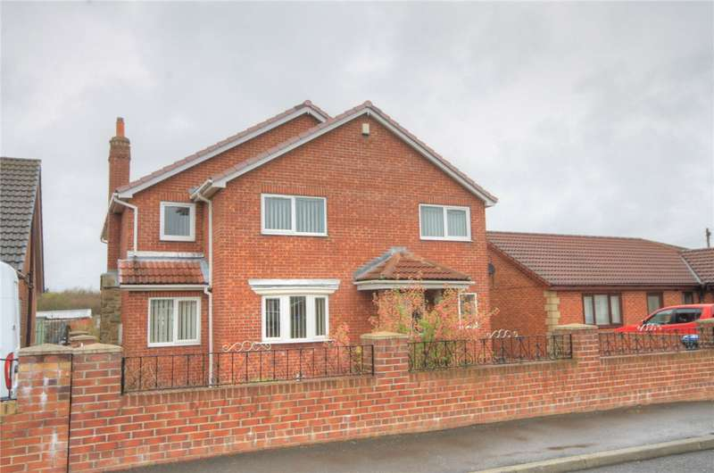 4 Bedrooms Detached House for sale in Barrons Way, Burnhope, Near Lanchester, DH7