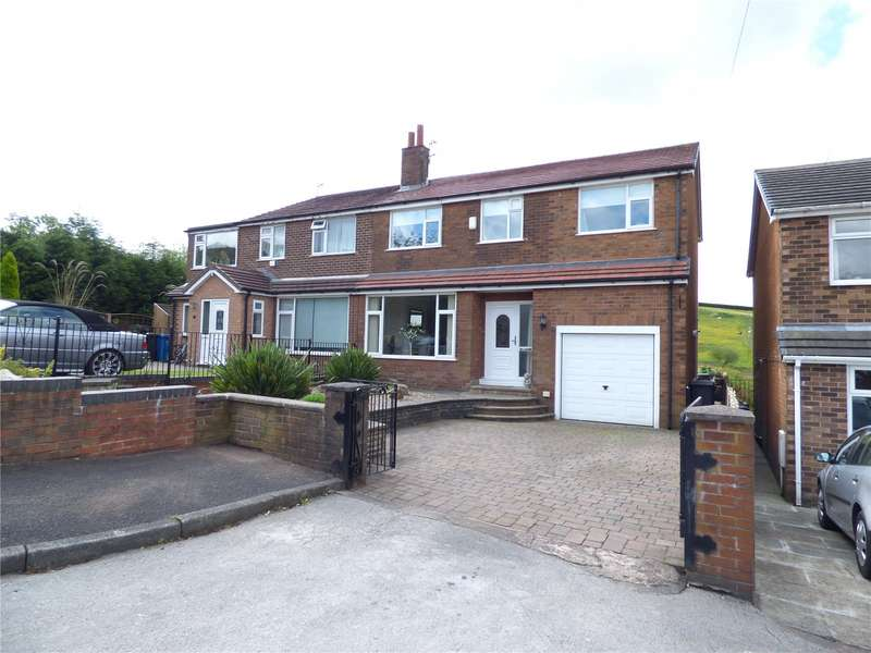 4 Bedrooms Semi Detached House for sale in Clough Road, Shaw, Oldham, OL2