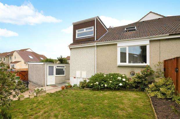 2 Bedrooms Semi Detached House for sale in Hedingham Close, Plymouth, Devon