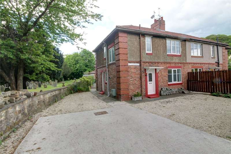 3 Bedrooms Semi Detached House for sale in St Leonards, Durham, DH1