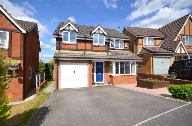 4 Bedrooms Detached House for sale in Brampton Gardens, Hatch Warren, Basingstoke
