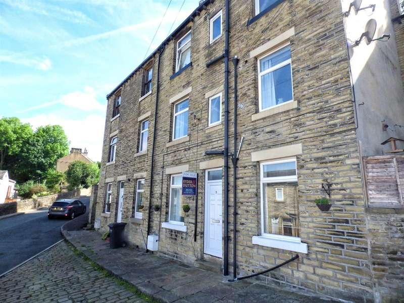 3 Bedrooms Terraced House for sale in Albany Street, Stoney Royd, Halifax, West Yorkshire, HX3