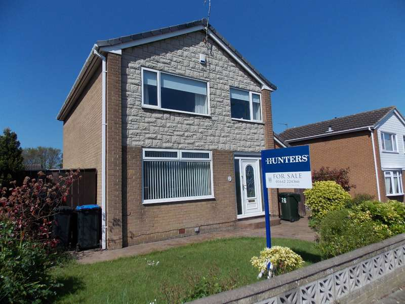 3 Bedrooms Detached House for sale in The Derby, Marton-in-Cleveland, Middlesbrough, TS7 8RH