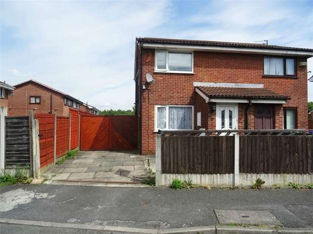 2 Bedrooms Semi Detached House for sale in Kimbolton Close, Manchester
