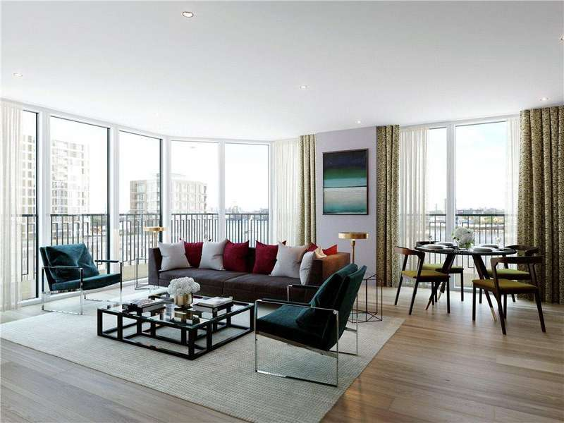 2 Bedrooms Flat for sale in Royal Arsenal Riverside, Woolwich, London, SE18