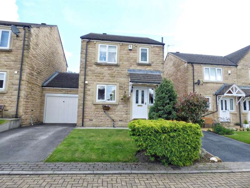 3 Bedrooms Link Detached House for sale in Field Close, Wheatley, HALIFAX, West Yorkshire, HX3